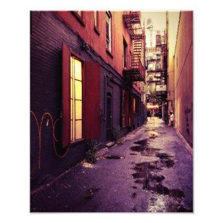 New York Alley Photographic Print