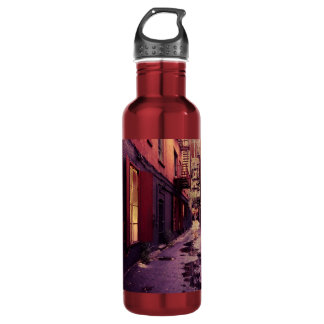 New York Alley Stainless Steel Water Bottle