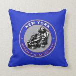 New York American MoJo Football Pillow