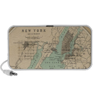 New York and its Environments Portable Speaker