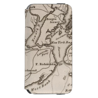 New York and New Jersey Region iPhone 6/6s Wallet Case