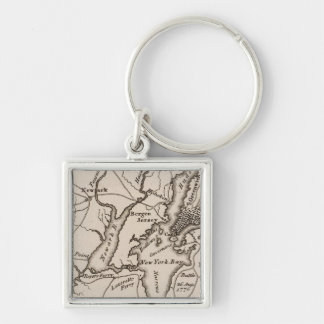 New York and New Jersey Region Keychain