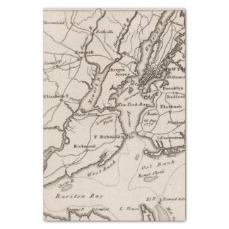 New York and New Jersey Region Tissue Paper