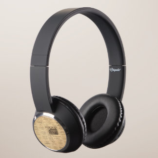 New York and Pennsylvania Oil Advertisements Headphones