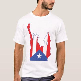 new york and puerto rico symbol  merged T-Shirt