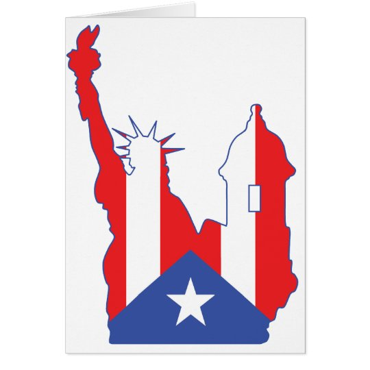 new york and puerto symbol merged card