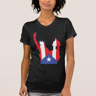 new york and puerto symbol merged T-Shirt