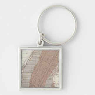 New York and vicinity Keychain
