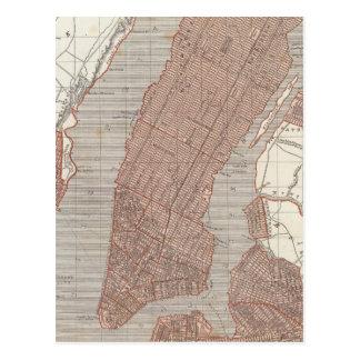 New York and vicinity Postcard