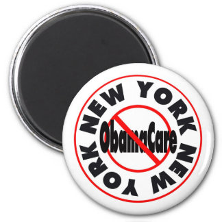 New York Anti ObamaCare – November's Coming! 2 Inch Round Magnet