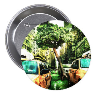 New York Apocalypse End of the World Pinback Button