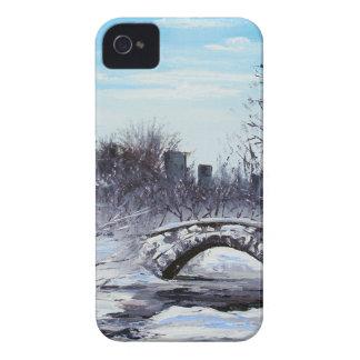 New York Art, Central Park, Landscape Case-Mate iPhone 4 Case