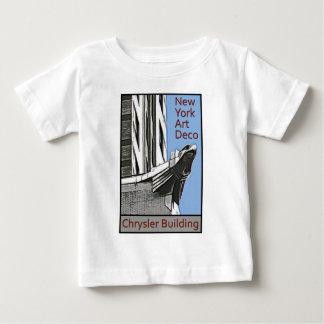 New York Art Deco - Chrysler Building Eagle Baby T-Shirt