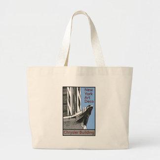 New York Art Deco - Chrysler Building Eagle Tote Bag