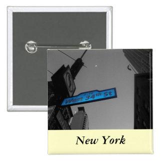 New York at Dusk Pin