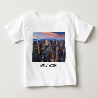 New York at Night Baby T-Shirt
