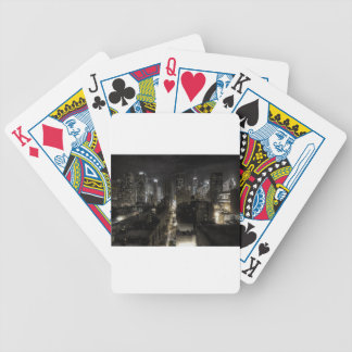 New York At Night Bicycle Playing Cards