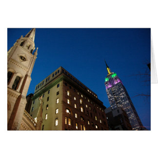 New York at Night Stationery Note Card