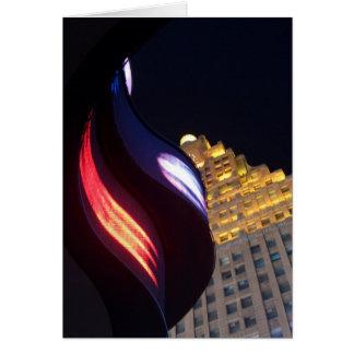 """New York at Night""  CricketDiane Art, Photography Card"