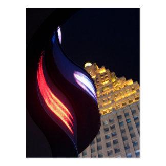 """New York at Night""  CricketDiane Art, Photography Postcard"