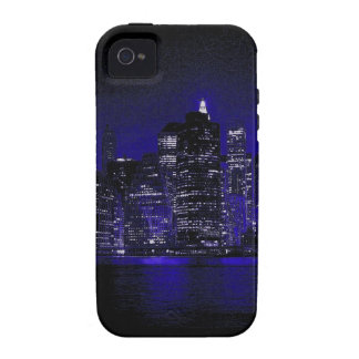 New York At Night iPhone 4 Cases