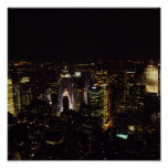 New York at night Posters