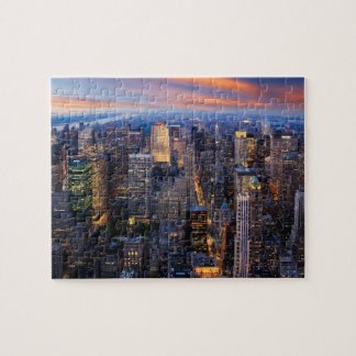 New York at Night Puzzle