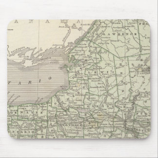 New York Atlas Map Mouse Pad