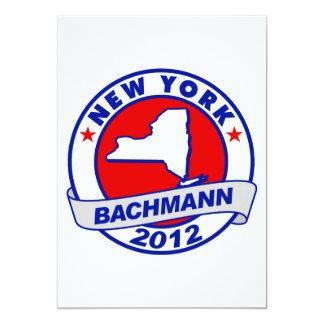 New York Bachmann Custom Invites
