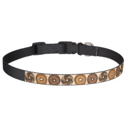 New York Bagel Bagels Breakfast Food Pet Collar