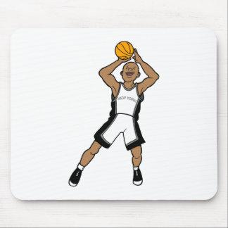 new york baketball player mouse pad