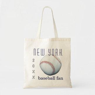 New York Baseball Fan Tote Bag