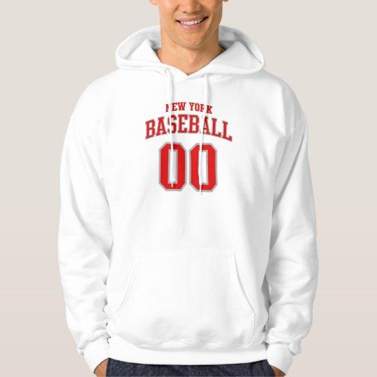 New York Baseball Hoodie