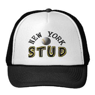 New York Baseball Stud Trucker Hat