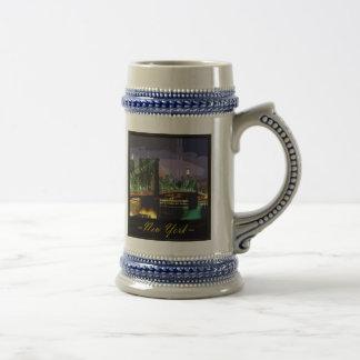 new-york beer stein coffee mug