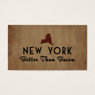 New York Better Than Bacon Business Card