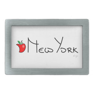 New York Big Apple Belt Buckle