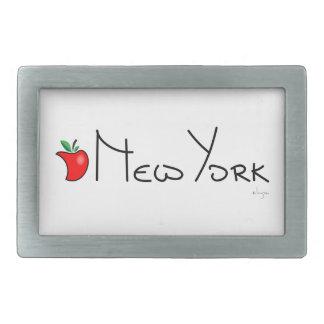 New York Big Apple Belt Buckle