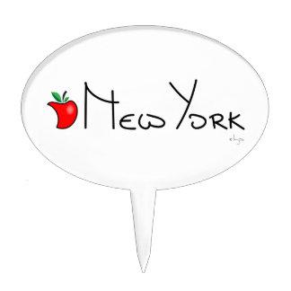 New York Big Apple Cake Topper