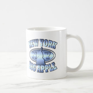 New York Big Apple Coffee Mug