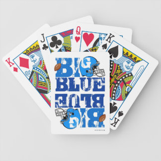 New York Big Blue Playing Cards