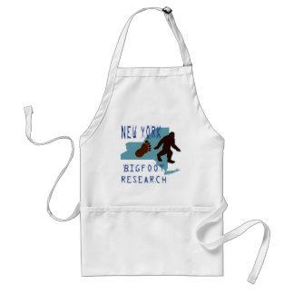 New York Bigfoot Research Adult Apron