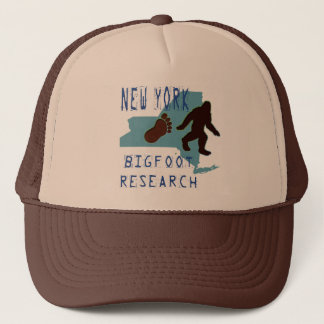 New York Bigfoot Research Trucker Hat