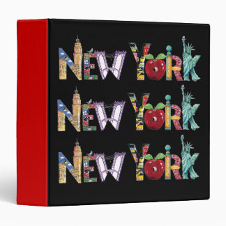 New York- binder