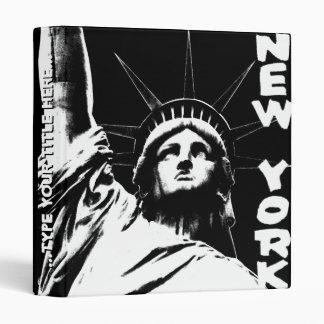 New York Binder Statue of Liberty Souvenir Binder
