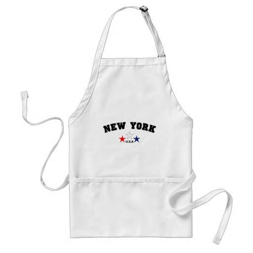 New York Block Adult Apron