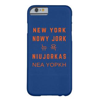 New York | Blue | iPhone 6/6s Phone Case