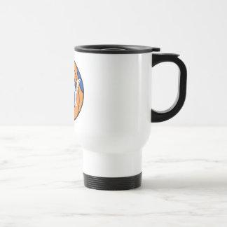 new york blue orange basketball coffee mugs