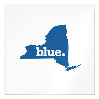 NEW YORK BLUE STATE MAGNETIC CARD
