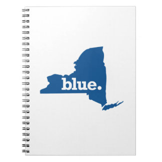 NEW YORK BLUE STATE NOTEBOOK